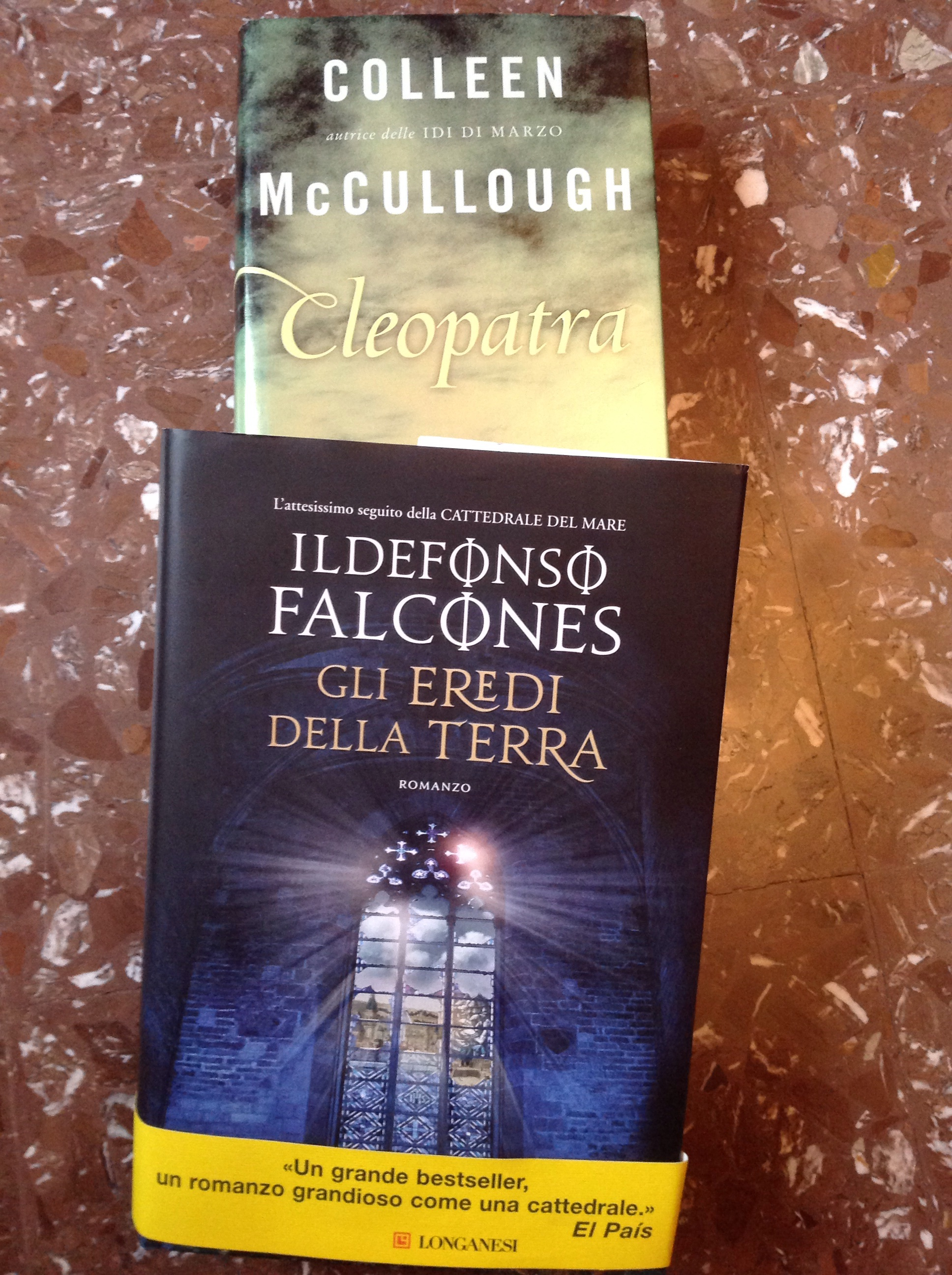 Due romanzi (storici) sospesi (Falcones e McCullough)