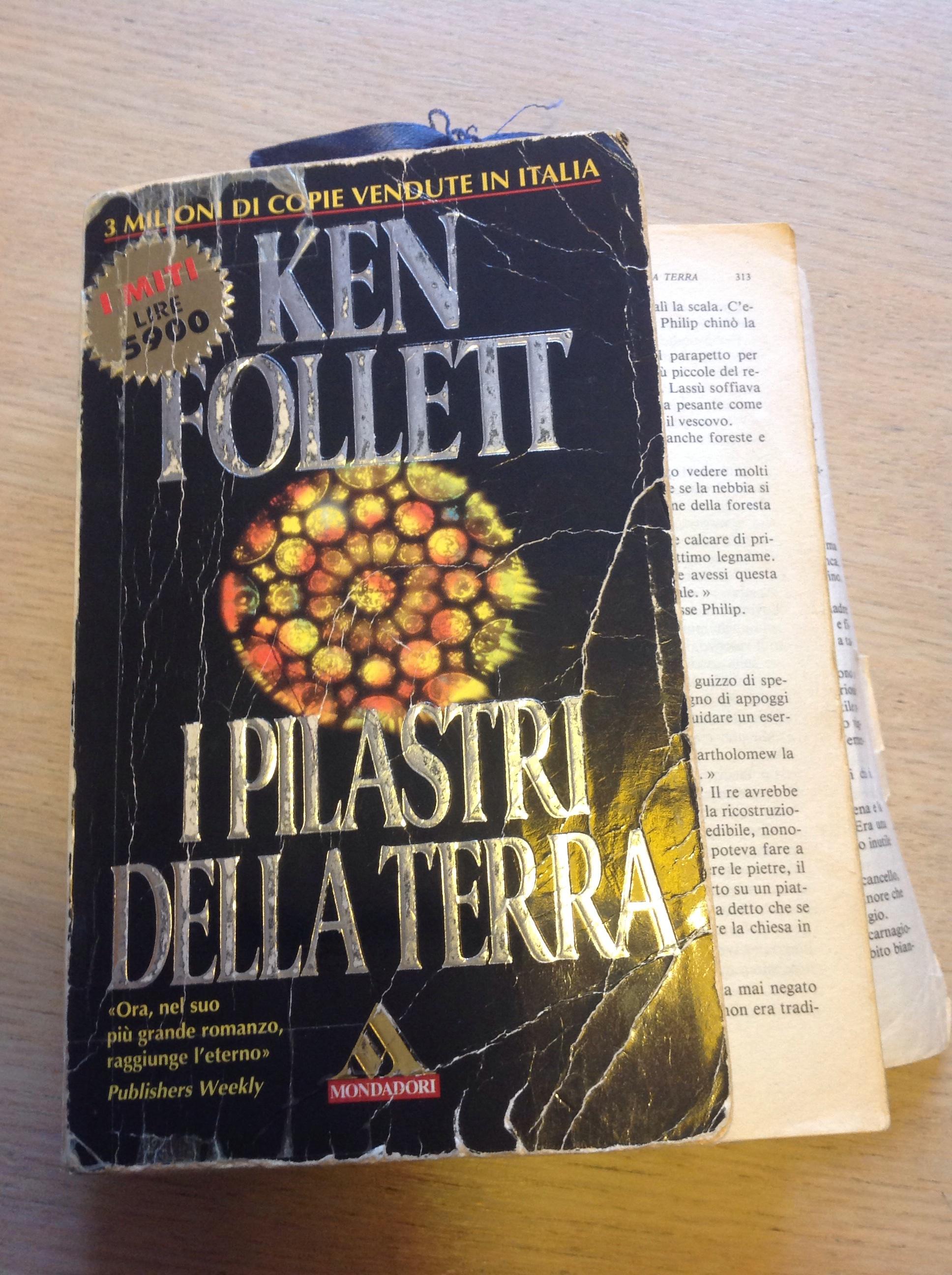 I pilastri della terra ken follett librini - Un letto di leoni ken follett ...
